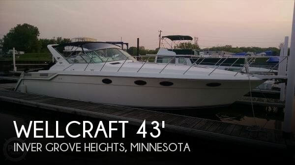 Used Boats For Sale in Rochester, Minnesota by owner | 1995 Wellcraft 43