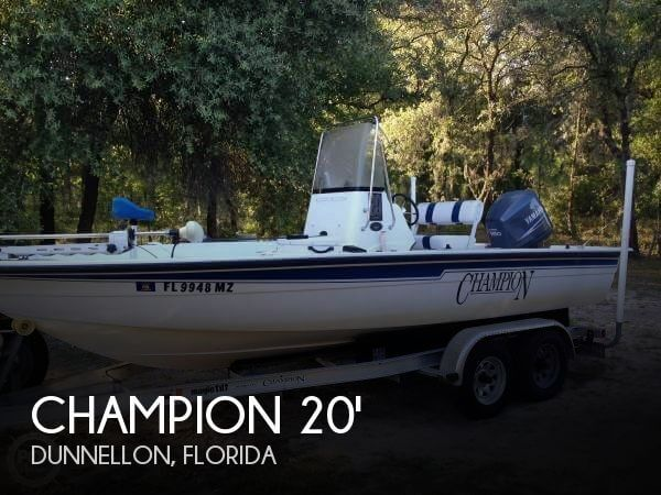 Used Champion Boats For Sale by owner | 2005 Champion 20