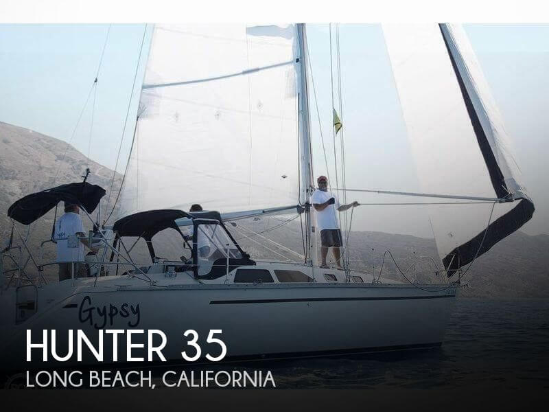 Used Hunter Sailboats For Sale in California by owner | 1990 Hunter 35