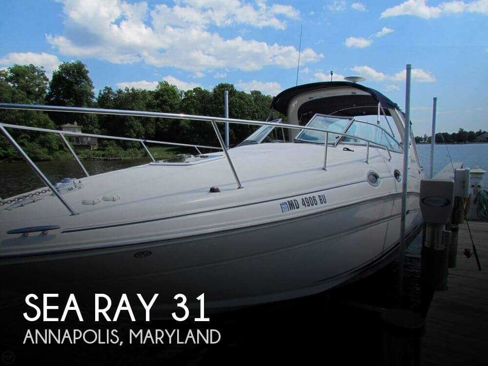 Used Sea Ray Boats For Sale in Maryland by owner | 2005 Sea Ray 31