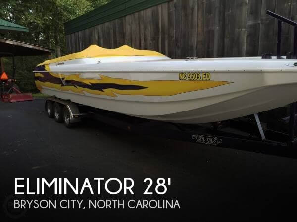 Used Boats For Sale in Asheville, North Carolina by owner | 2001 Eliminator 28