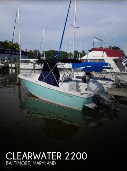 Used Clearwater Boats For Sale by owner | 2016 Clearwater 22