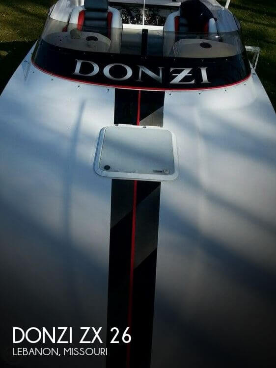 Used Boats For Sale in Springfield, Missouri by owner | 1999 Donzi 26