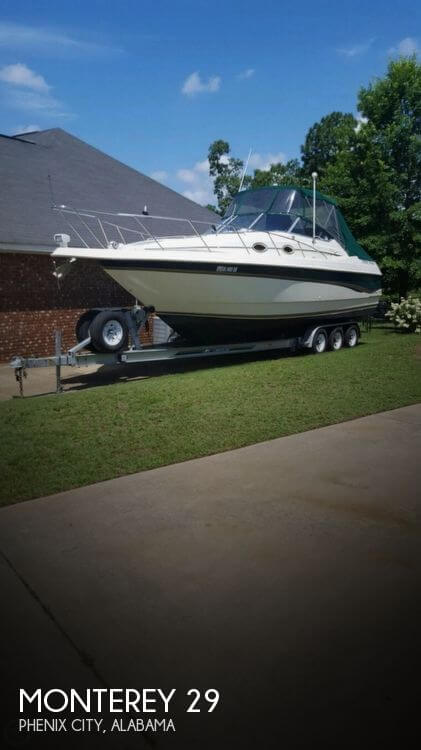 Used Boats For Sale in Columbus, Georgia by owner | 1997 Monterey 29