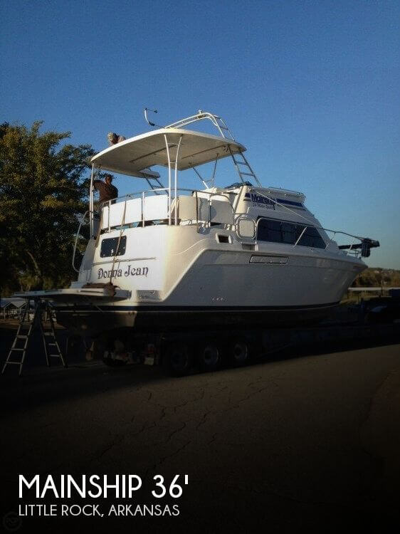 Used Mainship Boats For Sale by owner | 1998 Mainship 34 Motor Yacht