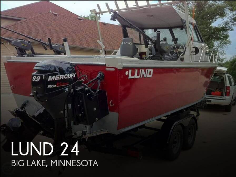 Used Lund Boats For Sale by owner | 1989 Lund 24