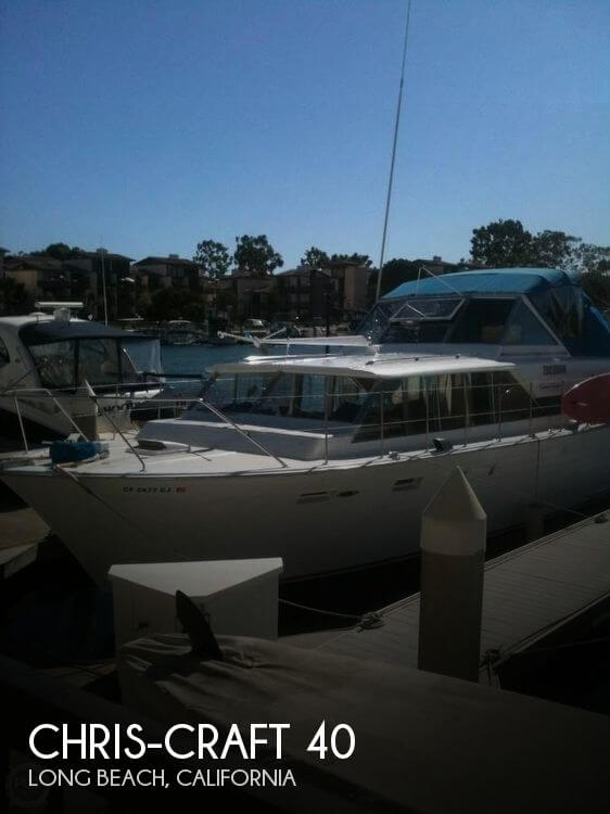 Used Motoryachts For Sale in California by owner   1966 Chris-Craft 40