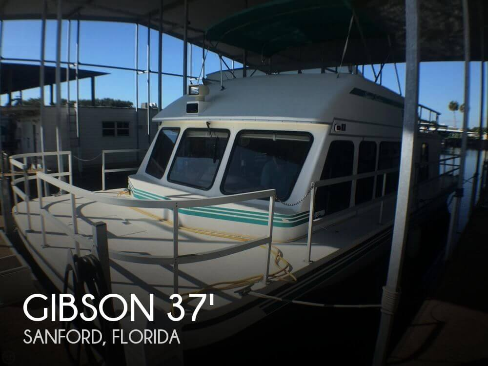Used GIBSON Houseboats For Sale by owner | 1999 Gibson 37 Sport Series
