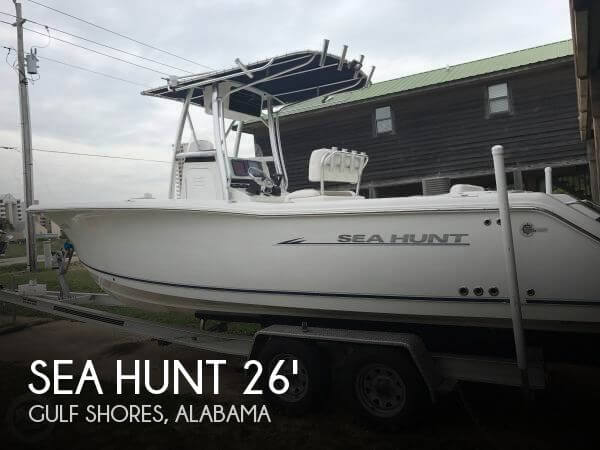 Used Boats For Sale in Mobile, Alabama by owner | 2009 Sea Hunt 26