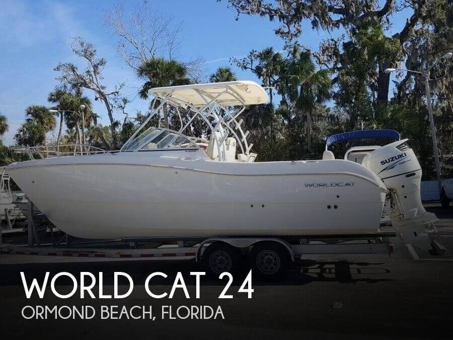 Used Boats For Sale in Orlando, Florida by owner | 2016 World Cat 24