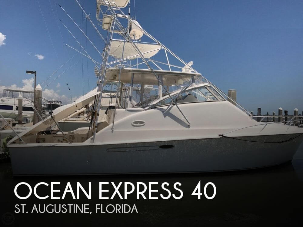 Used 40 Boats For Sale by owner | 2005 Ocean Express 40