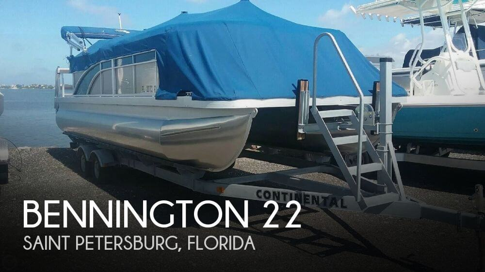 Used Pontoon Boats For Sale in Florida by owner | 2015 Bennington 22