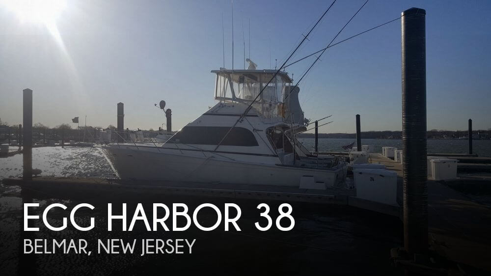 Used Egg Harbor Boats For Sale by owner | 1990 Egg Harbor 38