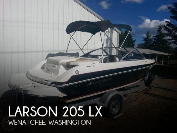 2014 Larson boat for sale, model of the boat is 205 LX & Image # 1 of 9