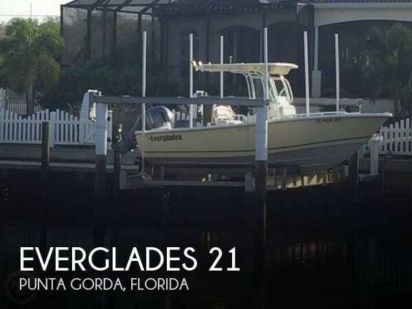 Used Everglades Boats For Sale by owner   2004 Everglades 21