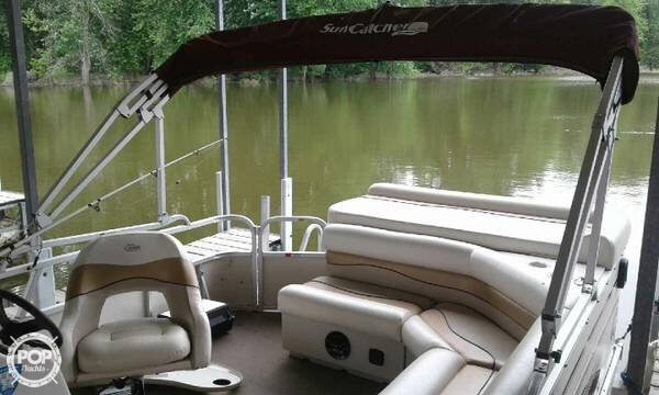 2008 SunCatcher boat for sale, model of the boat is 20 & Image # 3 of 7