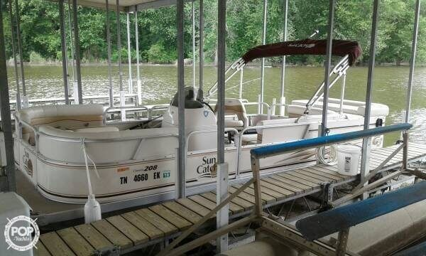 2008 SunCatcher boat for sale, model of the boat is 20 & Image # 4 of 7
