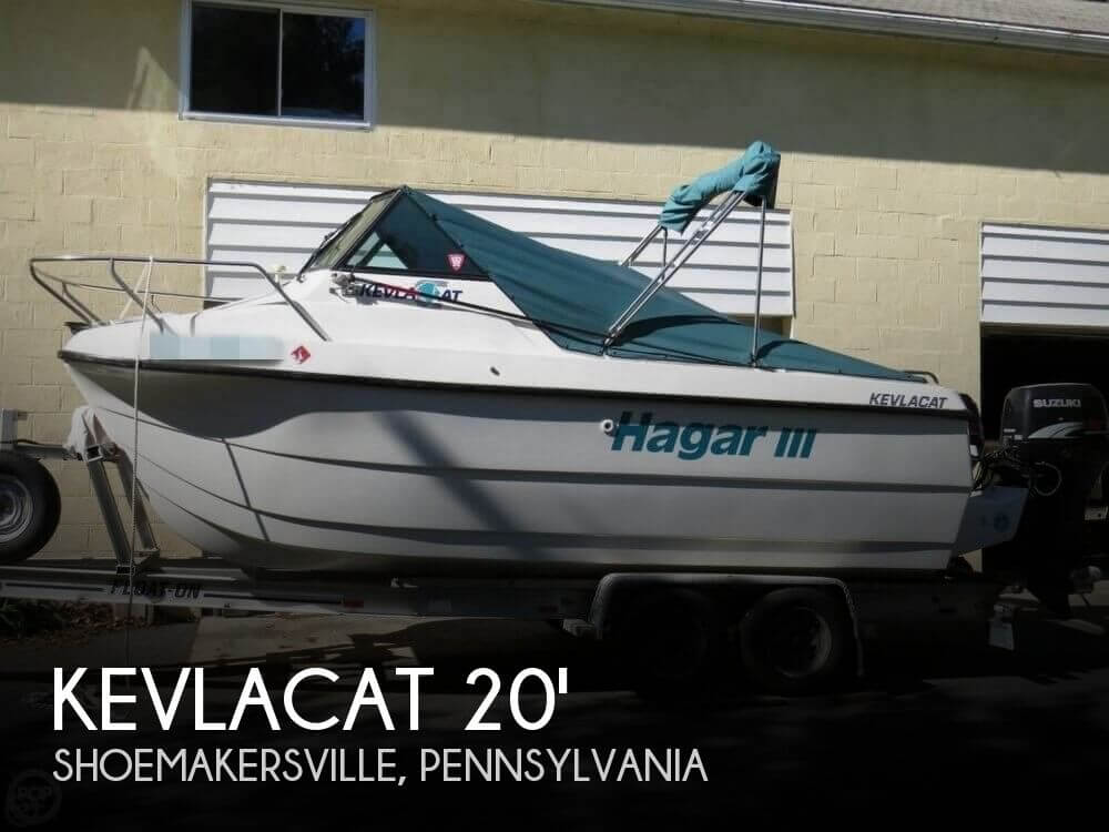 Used Boats For Sale in Bloomsburg, Pennsylvania by owner | 2000 Kevlacat 2000 Series