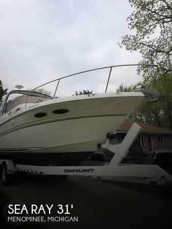 Used Boats For Sale in Green Bay, Wisconsin by owner | 1999 Sea Ray 31