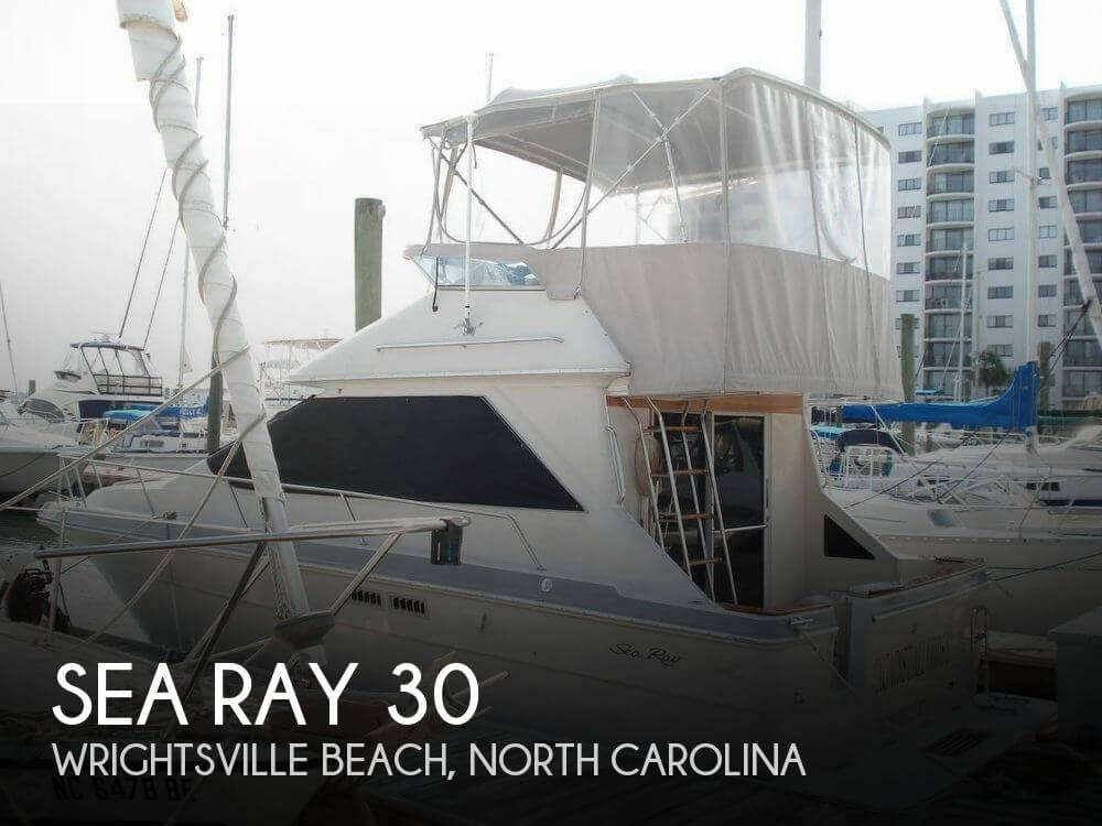 Used Fishing boats For Sale in North Carolina by owner | 1988 Sea Ray 30