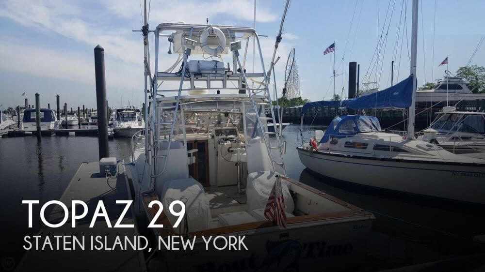 Used Topaz Boats For Sale by owner | 1986 Topaz 29
