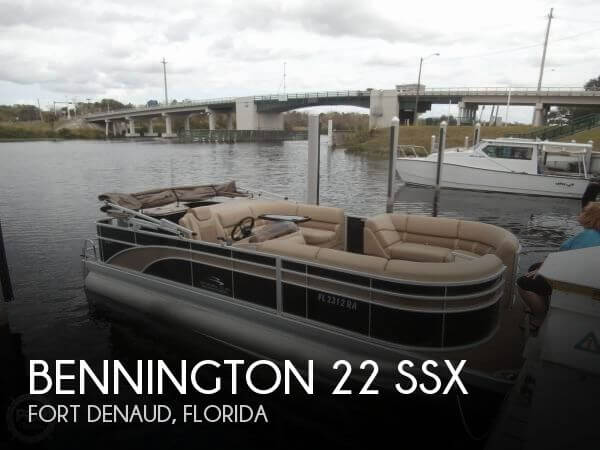 Used Pontoon Boats For Sale in Florida by owner | 2016 Bennington 21