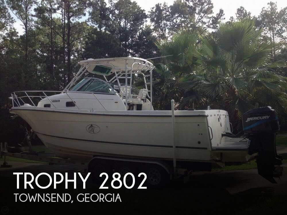 Used Trophy Boats For Sale in Georgia by owner | 2000 Trophy 31