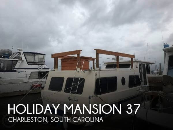 Used Holiday Mansion Houseboats For Sale by owner | 1987 Holiday Mansion 37