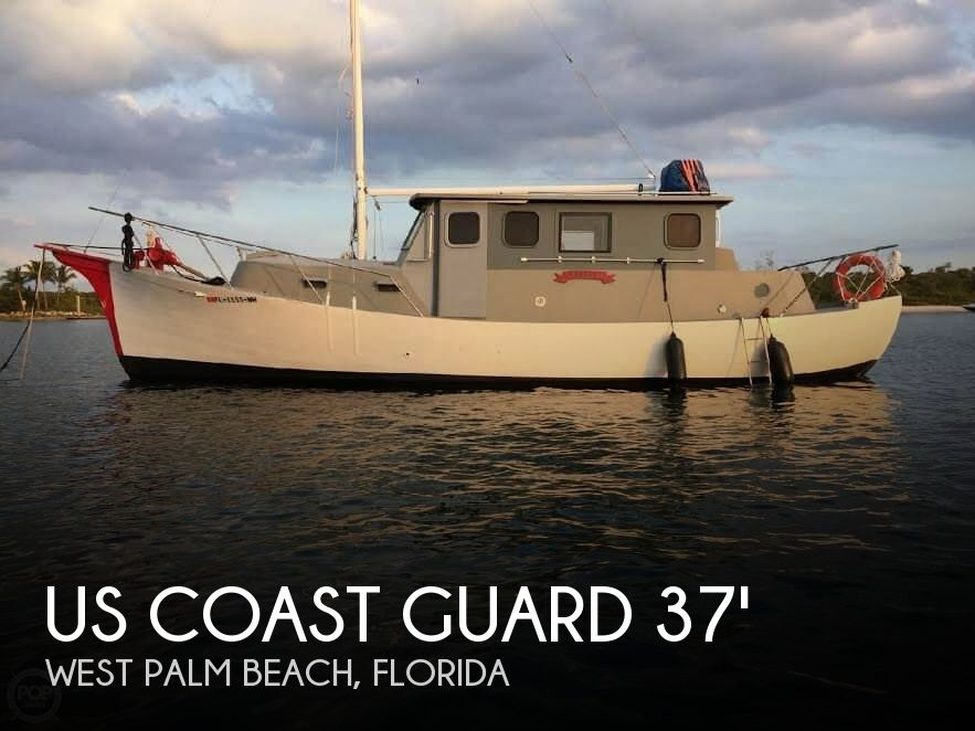 Used US Coast Guard Boats For Sale by owner | 1934 US Coast Guard 37