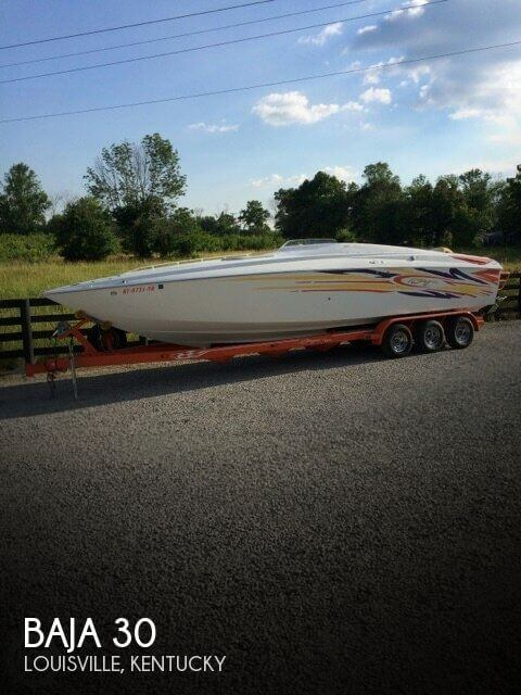 Used Boats For Sale in Kentucky by owner | 2004 Baja 30