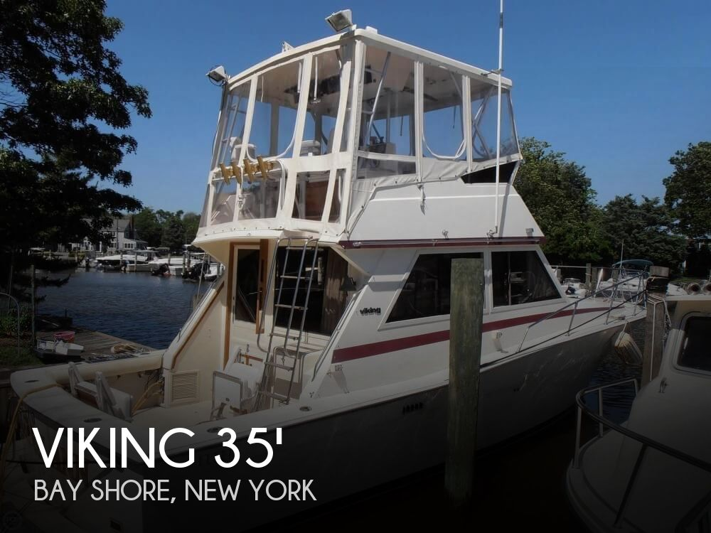 Used Boats For Sale by owner | 1986 Viking 35
