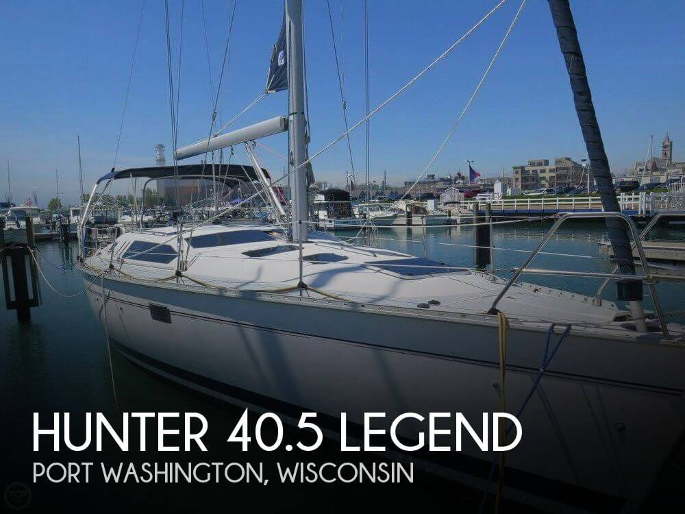 Used Boats For Sale in Milwaukee, Wisconsin by owner | 1997 Hunter 40.5 Legend