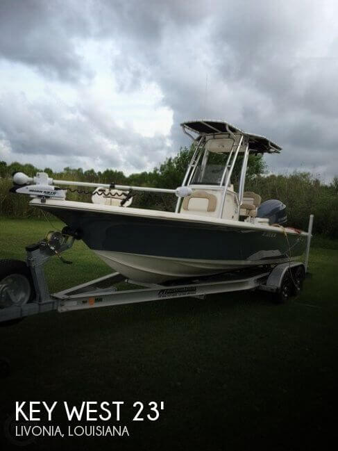 Used Boats For Sale in Lafayette, Louisiana by owner | 2015 Key West 23