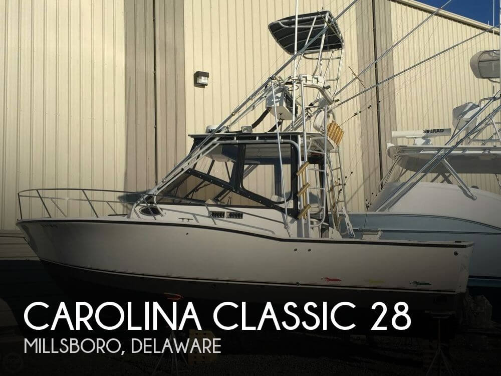 Used Boats For Sale in Delaware by owner | 1999 Carolina Classic 28