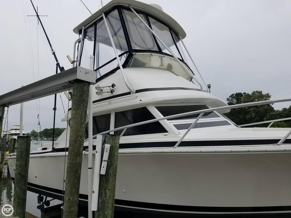 1991 Bertram boat for sale, model of the boat is FB Cruiser 28 & Image # 16 of 40