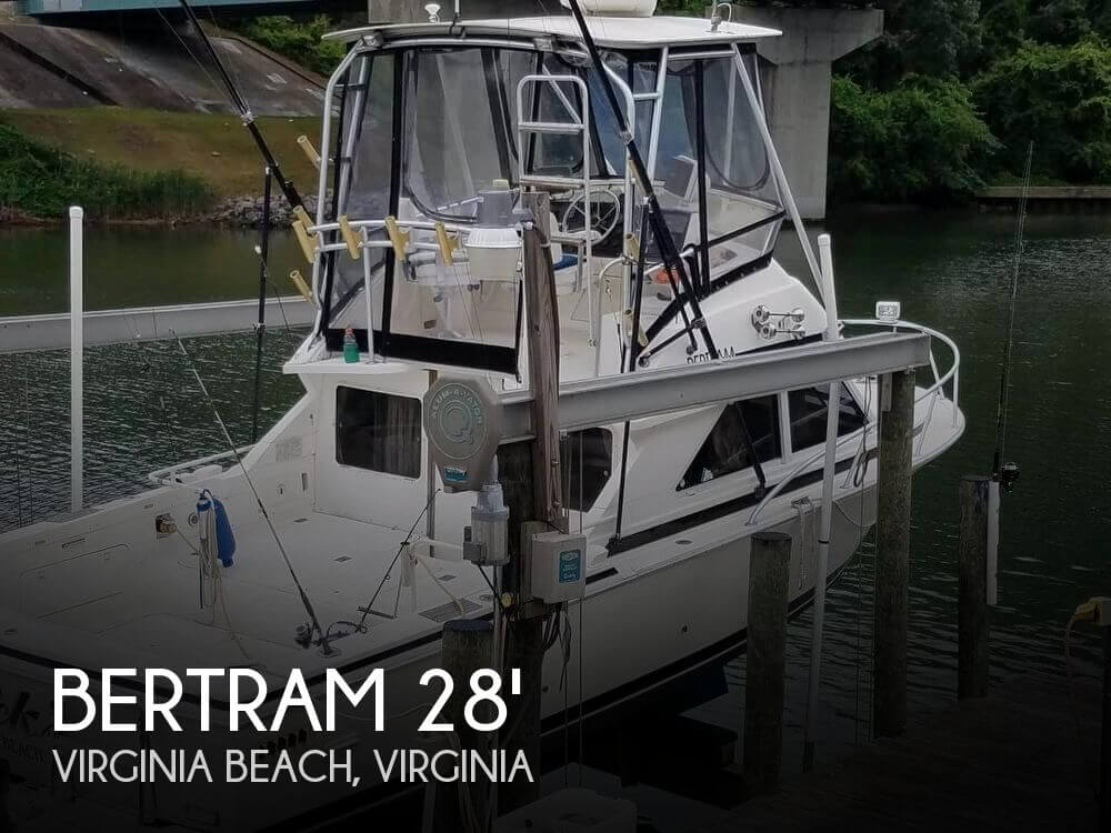 Used BERTRAM Fishing boats For Sale by owner | 1991 Bertram 28
