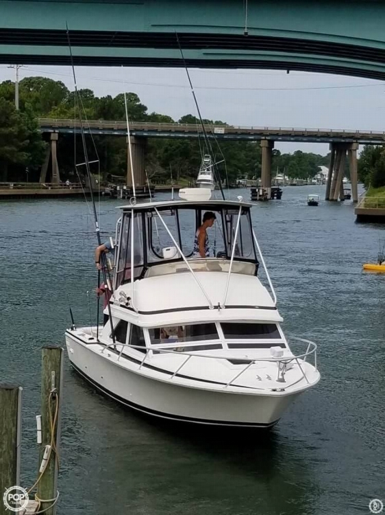 1991 Bertram boat for sale, model of the boat is FB Cruiser 28 & Image # 40 of 40