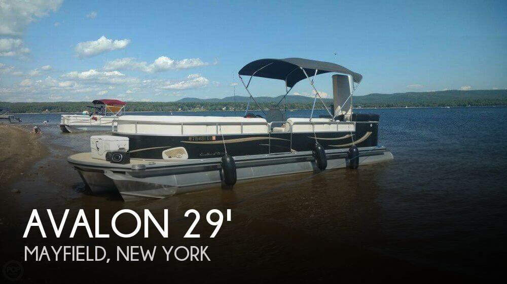 Used Avalon Pontoon Boats For Sale by owner | 2008 Avalon 29