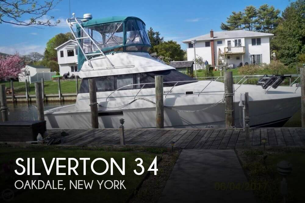Used Fishing boats For Sale in New York by owner | 1994 Silverton 34