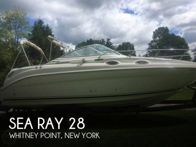 Used Boats For Sale in Binghamton, New York by owner | 2004 Sea Ray 28