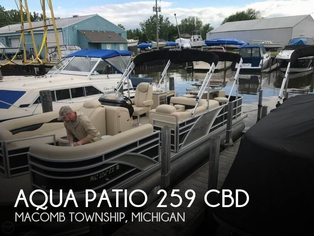 Used Aqua Patio Boats For Sale by owner | 2016 Aqua Patio 25