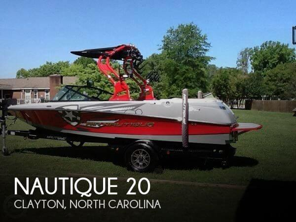 Used Boats For Sale in Raleigh, North Carolina by owner | 2013 Nautique 20