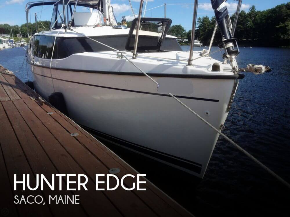 Sold hunter edge boat in saco me 131038 for Motor yachts for sale near me
