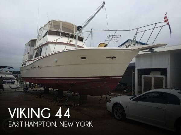 Used Boats For Sale in Hartford, Connecticut by owner | 1984 Viking 44