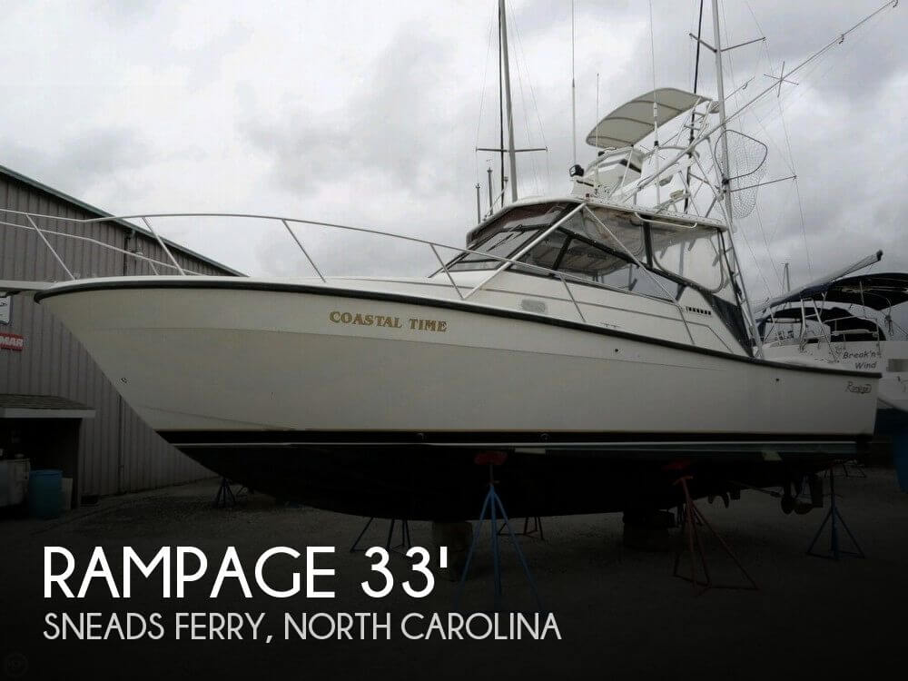 Used Fishing boats For Sale in North Carolina by owner | 1991 Rampage 33
