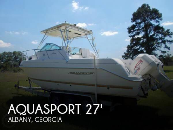 Used Aquasport Boats For Sale by owner   2001 Aquasport 26