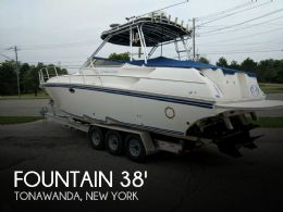 2005 Fountain 38 Sportfish Cruiser