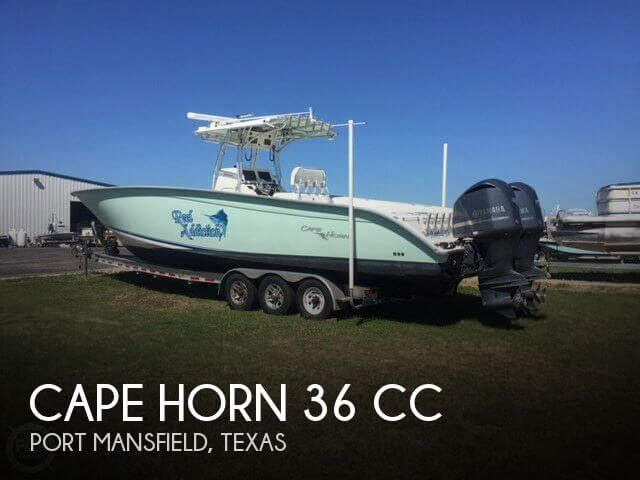 Used Boats For Sale in McAllen, Texas by owner | 2008 Cape Horn 36