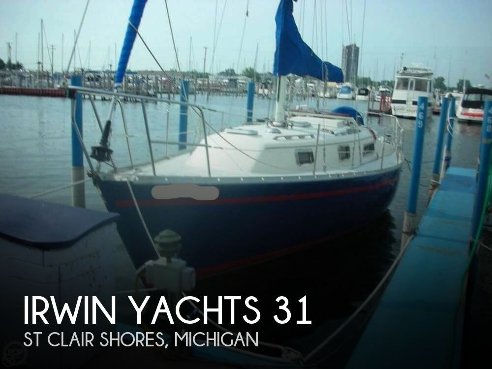 1985 Irwin boat for sale, model of the boat is 31 Citation & Image # 1 of 40