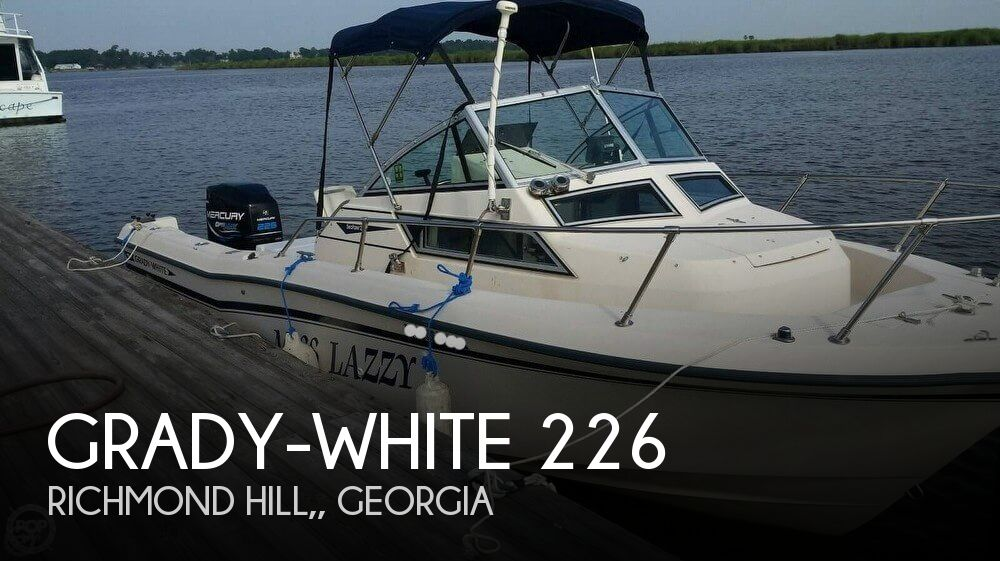 1992 Grady-White boat for sale, model of the boat is Seafarer 226 & Image # 1 of 40